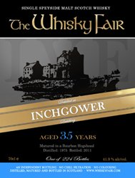 Inchgower 1975 - The Whisky Fair